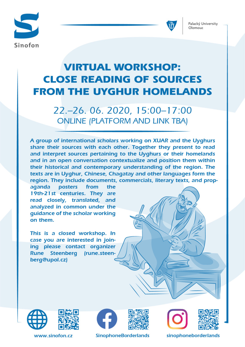 Virtual workshop: Close Reading of Sources from the Uyghur Homelands