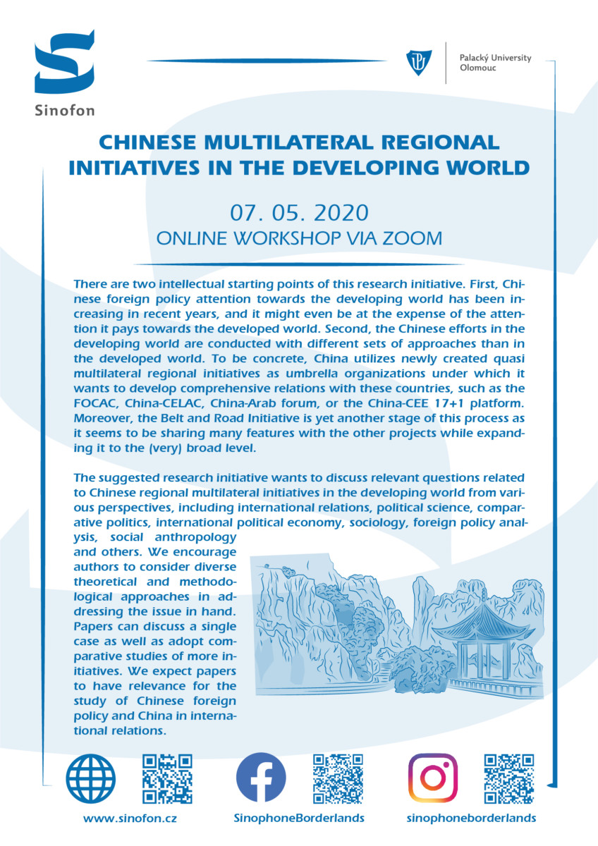 Chinese multilateral regional initiatives in the developing world