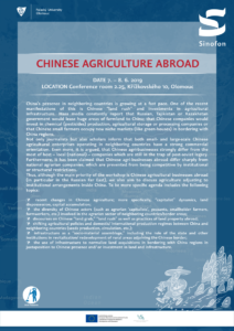 Chinese Agriculture Abroad