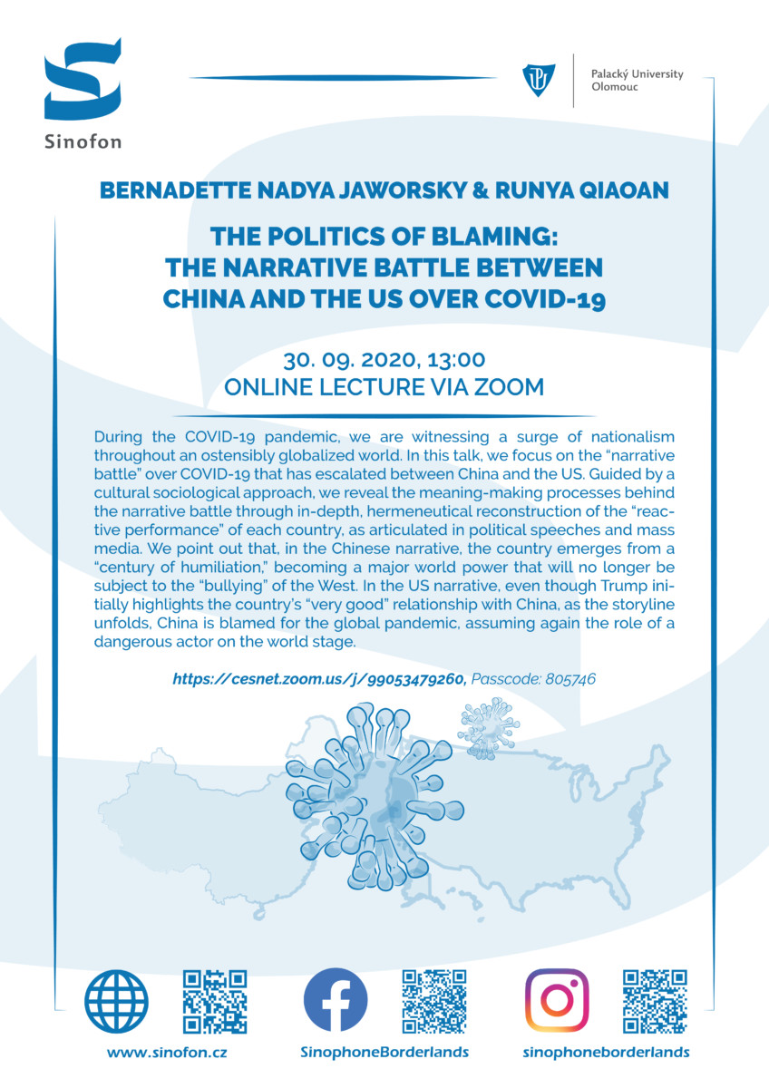 ONLINE: The Politics of Blaming: The Narrative Battle Between China and the US over Covid-19